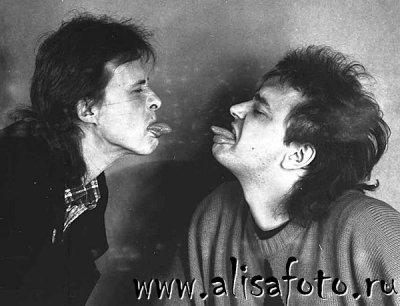 начало мая 1987 - Съёмки в студии Мраморного дворца (Ленинград), фотограф В.Потапов