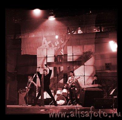 4 августа 1987 - Концерт - Ленинград - ЛДМСТ (Рок-клуб)