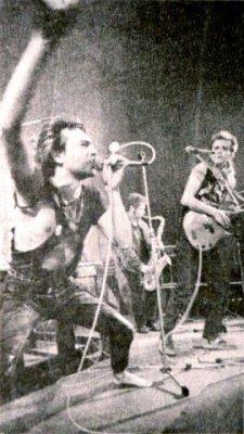 октябрь 1988 - Концерты в Праге (Чехословакия)