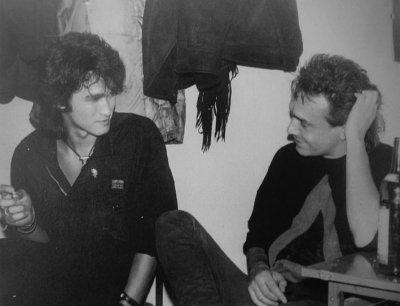 28 октября 1988 - Ленинград - СКК им.Ленина - К.Кинчев на концерте Кино
