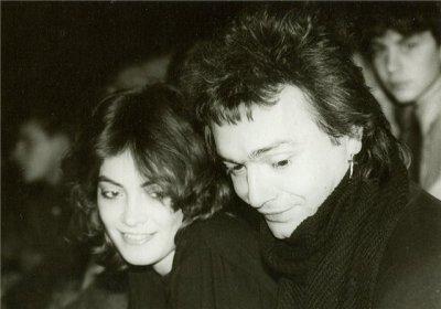 28 ноября 1989 - Ленинград - СКК им.Ленина - К.Кинчев и А.Панфилова на концерте Кино