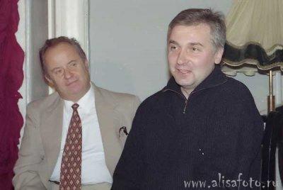 14 ноября 1996 - Пресс-конференция в ДК Железнодорожников (Санкт-Петербург), посвящённая окончанию тура «Рок-н-ролл - это не работа»