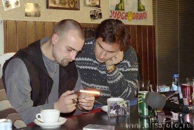 18 ноября 1996 - Пресс-конферения в «БАЙК-клубе» (Санкт-Петербург), посвящённая выходу в свет альбома «Странные скачки»
