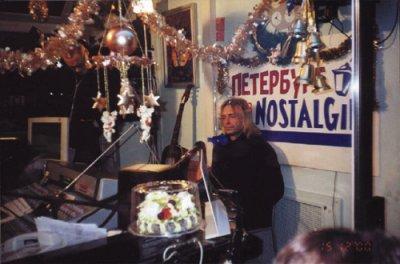 15 декабря 2000 - К.Кинчев в прямом эфире на радио «Ностальжи-Петербург»