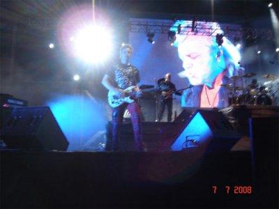 6 июля 2008 - Концерт - Сарагоса (Испания) - выставка «ЭКСПО-2008», Открытая площадка АМФИТЕАТР