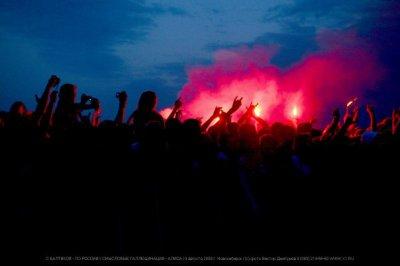 """9 августа 2008 - Концерт - Новосибирск - Лыжная база «Локомотив» - Пивной фестиваль """"Балтика"""""""