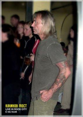 3 октября 2004 - Константин Кинчев посетил концерт группы «Калинов Мост» (клуб Рок-сити, Новосибирск)