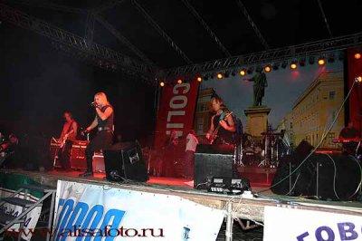 3 сентября 2005 - Концерт - Одесса - Концерт у памятника Дюку Ришелье - фестиваль «Пикейные жилеты»