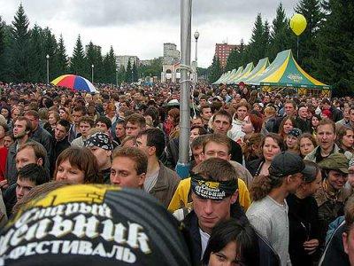 """22 июля 2006 - Екатеринбург - Фестиваль """"Крылья"""""""