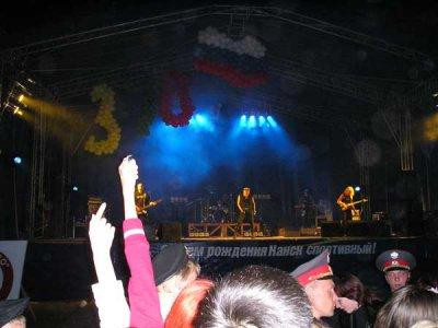 3 сентября 2006 - Канск - Красноярский край, День города на Стадионе Текстильщик