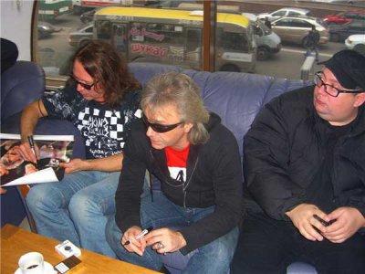 15 декабря 2006 - Киев, автограф-сессия в магазине Музторг