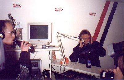 16 октября 1999 - Мурманск, Кинчев на Радио Power FM